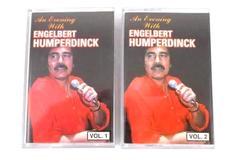 """""""An Evening With Engelbert Humperdinck"""" 2 Cassettes Set Volume 1 & 2 S-4537-4"""