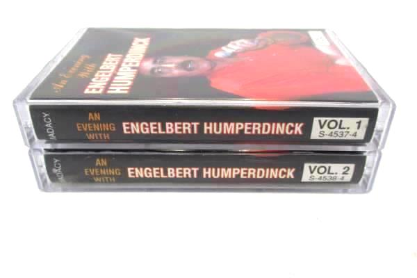 """An Evening With Engelbert Humperdinck"" 2 Cassettes Set Volume 1 & 2 S-4537-4"