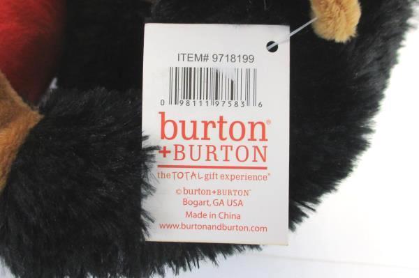 "Burton & Burton Ape Over You Valentine Plush Monkey Gorilla Red Heart 8"" Gift"