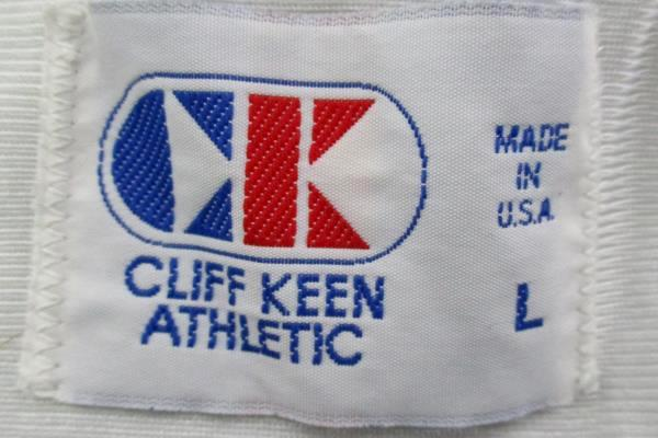 VTG Cliff Keen Women's #15 White Basketball Jersey McMinnville Grizzlies Size L