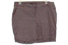 ASOS CURVE Woman's Geometric Pattern Flat Front Shorts Plus Size 16