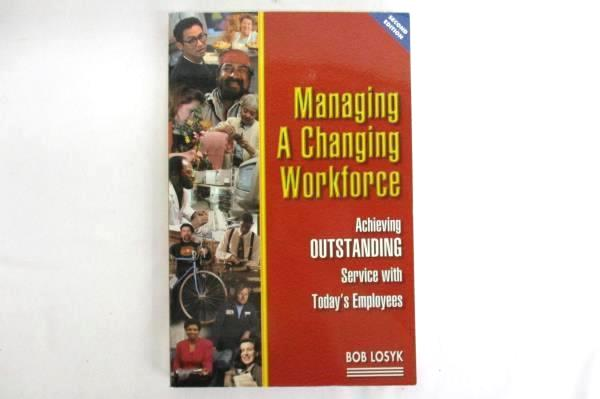 Lot of 3 Self Help Books Managing A Changing Workforce Customer Service A Farmer