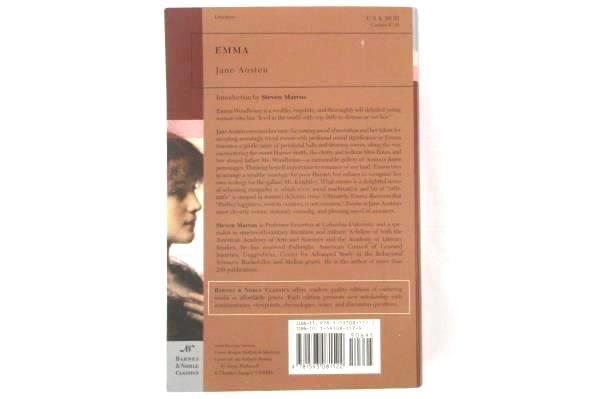 EMMA by Jane Austen Intro by Steven Marcus Barnes & Noble Classics SC 2004