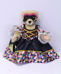 Alice VanderBear Bal Masque 1991 No American Bear Co Teddy Bear Doll Masquerade
