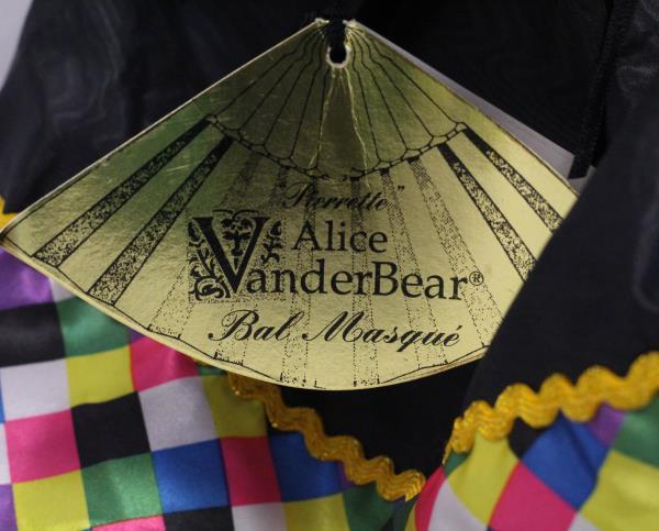 Alice VanderBear Bal Masque 1991 No American Bear Co Teddy Bear Doll Masquerade