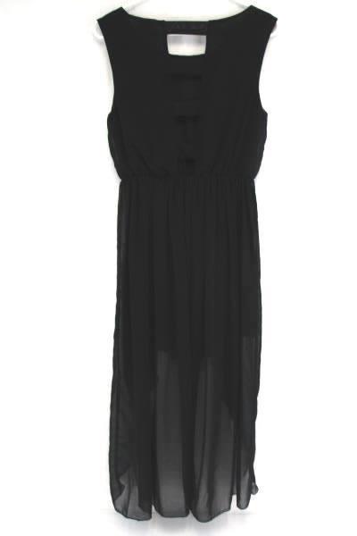 Women's L'ATISTE Black Hi Lo Cocktail Party Formal Dance Dress Size Medium