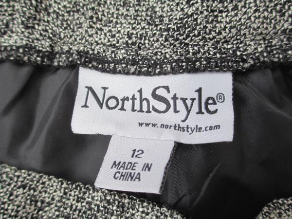 Women's Dress Pants Multi-Color By North Style Size 12 Side Zipper Clasp Closure