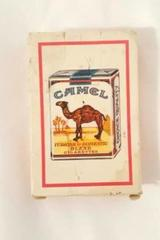 Vintage Camel Package White w/ Red Border Playing Cards Collectible