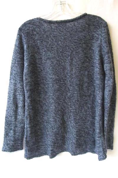 Women's Blue Sweater By Great Northwest Indigo Size M 100% Acrylic