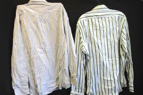 Lot of 2 Men's Button-up Dress Shirts by Old Navy & GAP Size Large