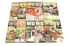 Lot of 10 November 1999- December 2000 Better Homes and Gardens Wood Magazines