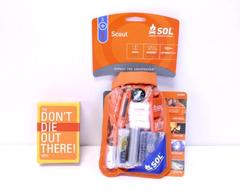 NEW Scout SOL Survival Kit & 'Don't Die Out There' Survival Tips Playing Cards