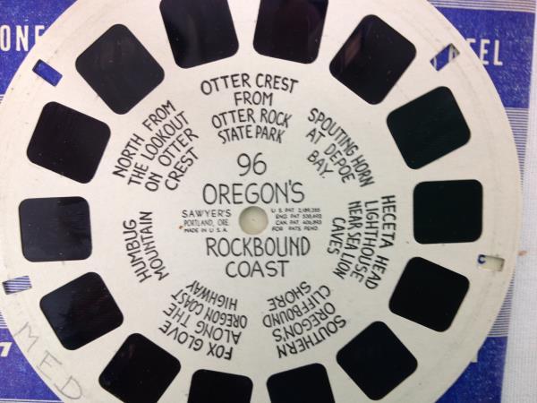 Sawyer's View Master Oregon's Rockbound Coast Reel SP 96