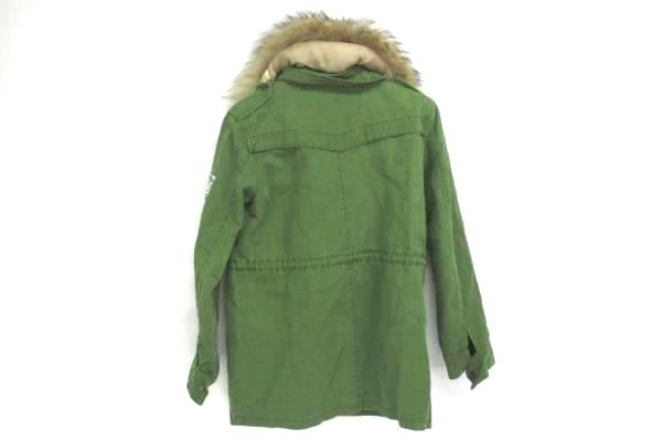 Korea Trade Clothes Army Green Zip Up & Button Up Jacket Size S/M
