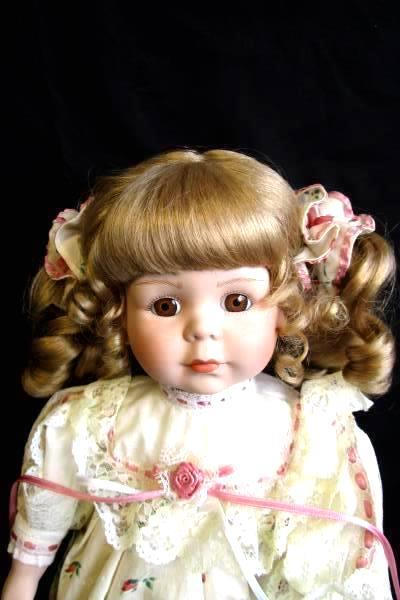 Girl's Hand Made Porcelain Doll By King State The DollCrafter #2216 Jessie