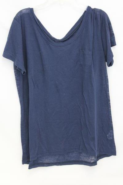Women's Lot Of 2 Sz Large Shirts Gear and Nike See Through Blue,  Purple