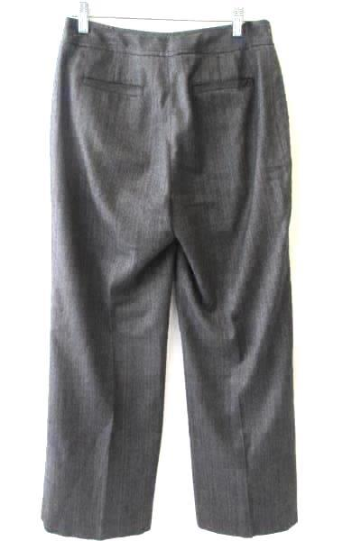 Jones New York Gray Women's Dress Work Pants Size 4 One Button Waist