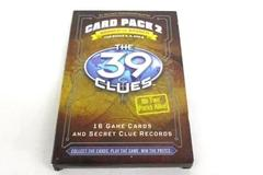 The 39 Clues: Card Pack No. 2 Branch vs. Branch by Scholastic For Books 4, 5, 6