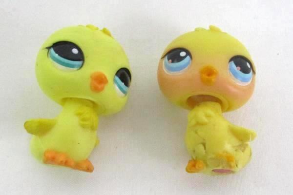 LITTLEST PET SHOP Lot of 5: 4 Ducks and 1 Bluebird