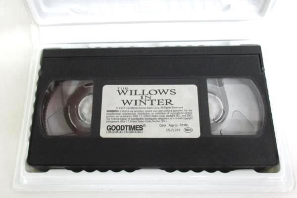 The Willows In Winter VHS 1997 Clamshell Narrated by Vanessa Redgrave