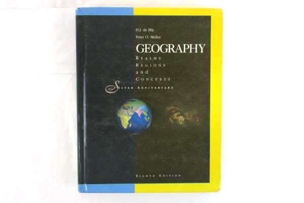 Geography: Realms, Regions, and Concepts 8th Edition (Hardcover) Blij, Muller