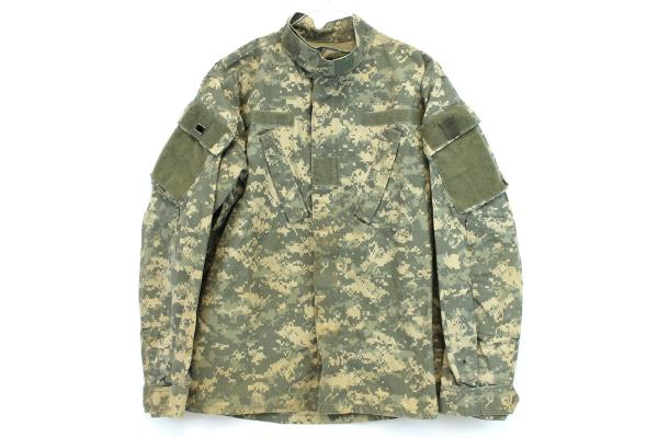 Military Army Issue BDU Digital Camouflage Hunting Hiking Jacket Small-Regular