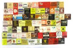 Lot of 81 Vintage Matchbooks Restaurant Collection Mixed