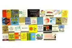 Lot of 34 Vintage Matchbooks Advertising Mixed Lot Safeway Coca-Cola GTE Bi-Mart