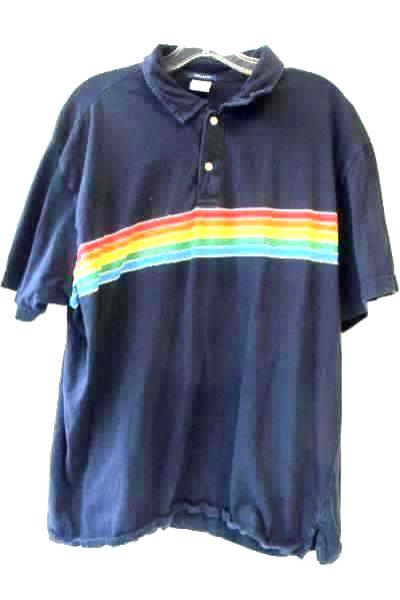Men's Lot Of 3 Shirts Made By Old Navy Sz XL Multicolor Short Sleeve 1/2 Button