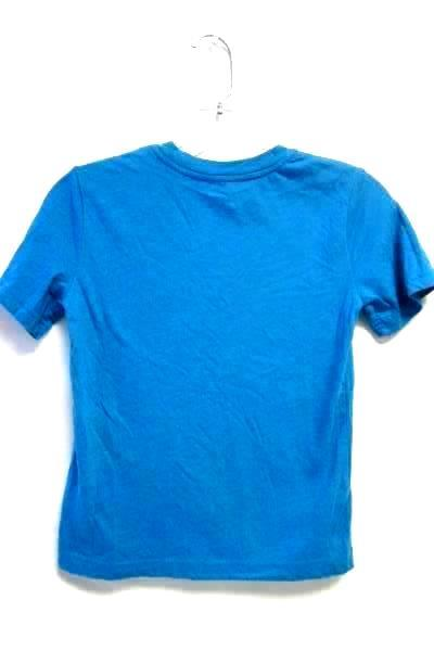 Boy's Blue Short Sleeve Crew Neck T-Shirt By Arizona Jeans Co. Size Small 8