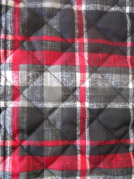 Men's Red Black Plaid Vest By Northern Reflections Size XXL 100% Polyester