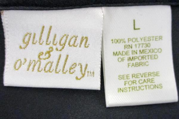 Gilligan & O'Malley Slip L Black Sleepwear Lingerie Mid-Calf Women