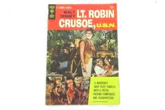 Walt Disney Lt Robin Crusoe USN Gold Key Comic 1966 Dick Van Dyke