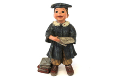 Boy Graduate Sarah's Attic Logan Figurine #62/2000 Limited Edition