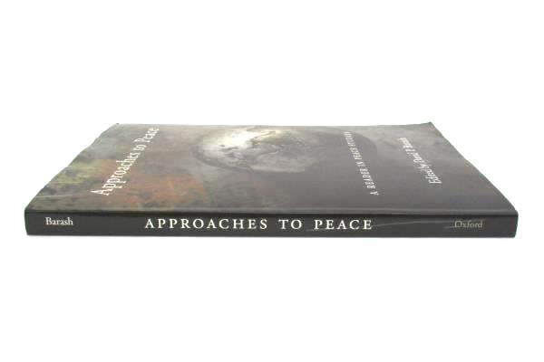 2000 Paperback Approaches to Peace: A Reader in Peace Studies by David P. Barash