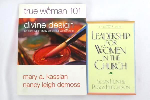 Lot 2 Women's Religious Books Leadership For Women In The Church Divine Design