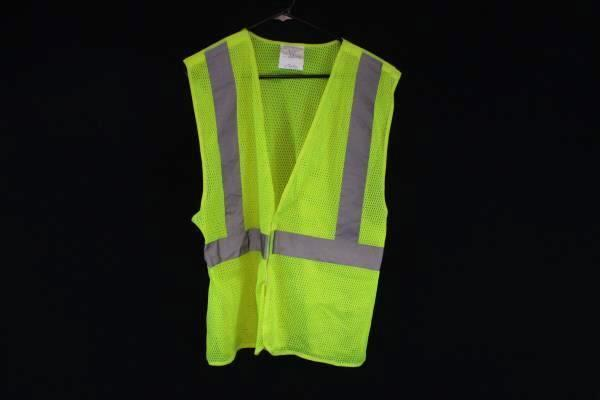 High Vision Safety Vest Yellow 3M Reflective Material XL