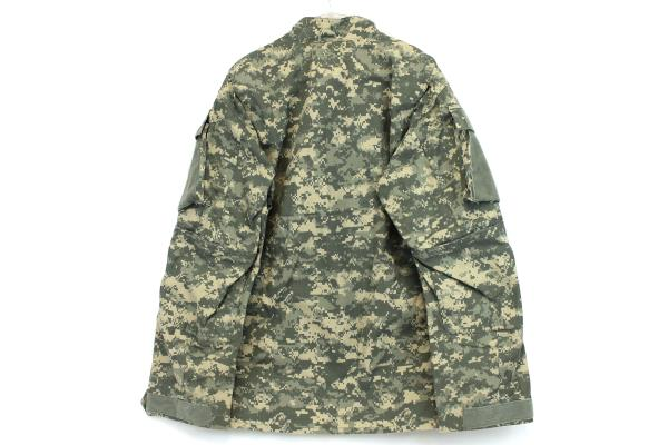 Military Army Issue BDU Digital Camouflage Hunting Hiking Jacket Medium Long