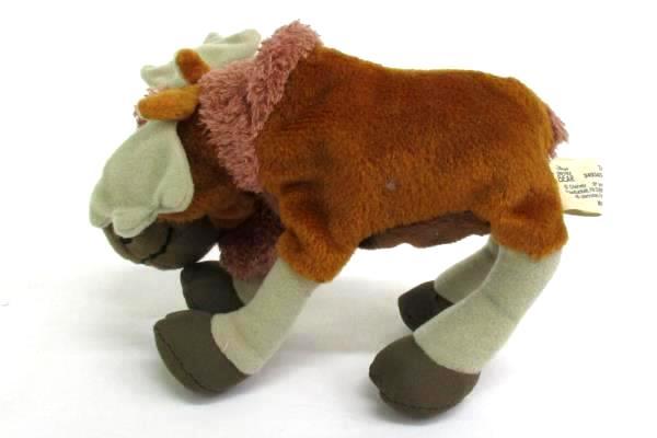 "2003 Brother Bear TUKE THE MOOSE 6"" Bean Bag Stuffed Animal Walt Disney HASBRO"