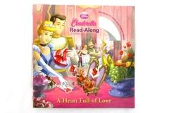 """2010 Read-Along Storybook and CD: Disney's """"Cinderella A Heart Full of Love"""""""