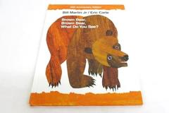 Eric Carle Brown Bear, Brown Bear, What Do You See? 40th Anniversary Edition