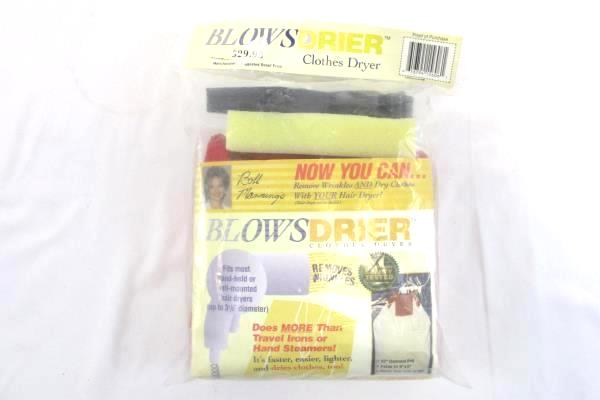 Vintage BLOWS DRIER Travel Clothes Garment Dryer Wrinkle Remover
