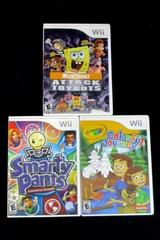 Lot of 3 Nintendo Wii Games Attack Of The Bots Colorful Journey Smarty Pants