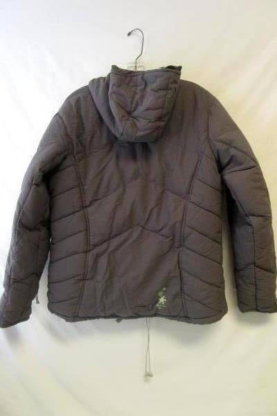 Women's Ski Winter Coat Jacket By Dare2be Gray Polyester Blend Sz M UK 12 EUR 38