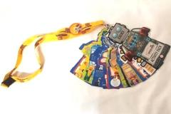 Lego Land Discovery Center Activity Pack Lanyard Partial Complete Build A Robot