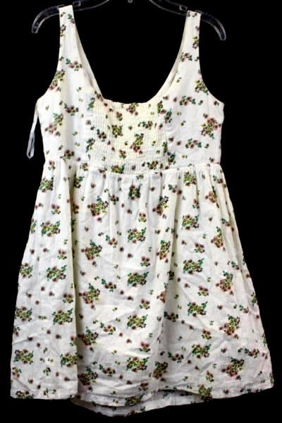 Atmosphere Women's Dress White Floral Size UK 8 (US Size 6)