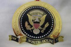 1789-1989  White House Historical Association Christmas Ornament