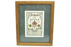 Framed Print Lynn Norton Parker No Place Like Home Creative Calligraphy