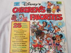 Vintage Children's Walt Disney Records Children's Favorite Songs Vol 1  25 Songs
