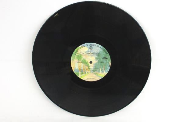 """Lot of 2 Vinyl 33 RPM 12"""" Records Doobie Brothers BSK 3112 & BSK 3045"""